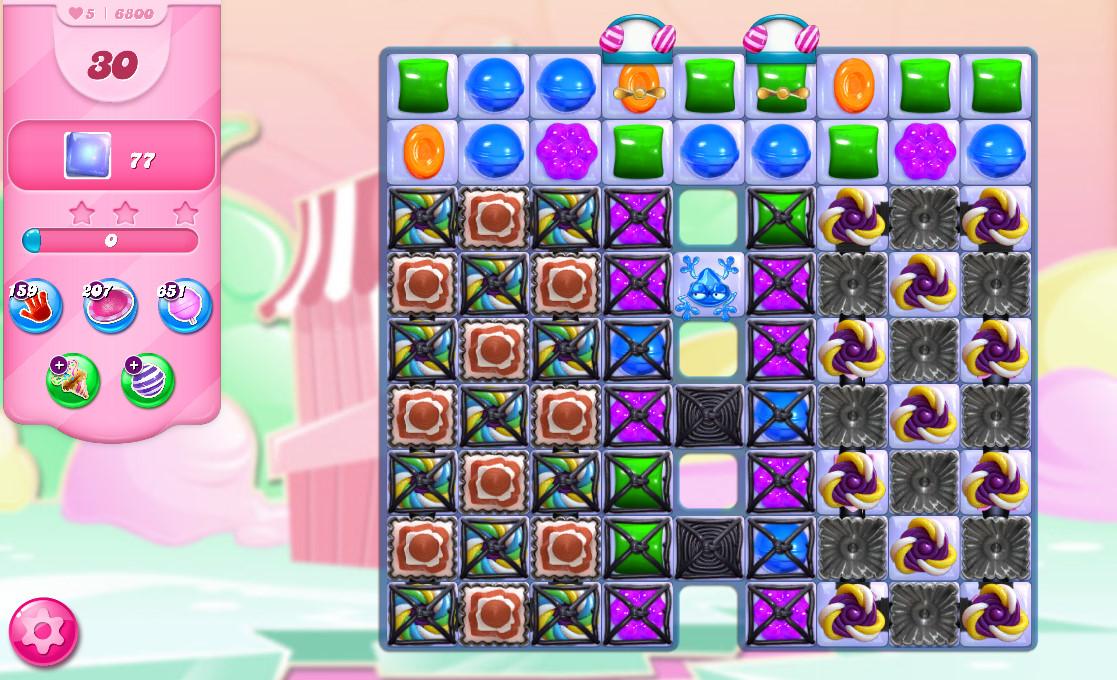 Candy Crush Saga level 6800