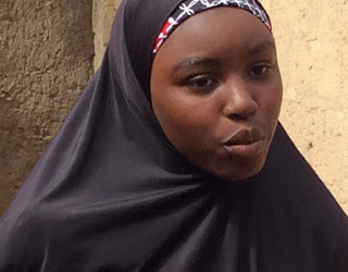 escaped dapchi school girl