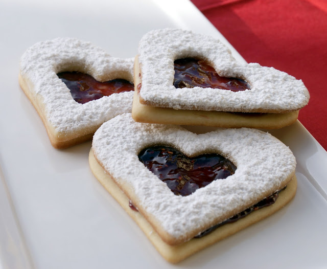 Valentine's Day Heart-Shaped Cookies Images