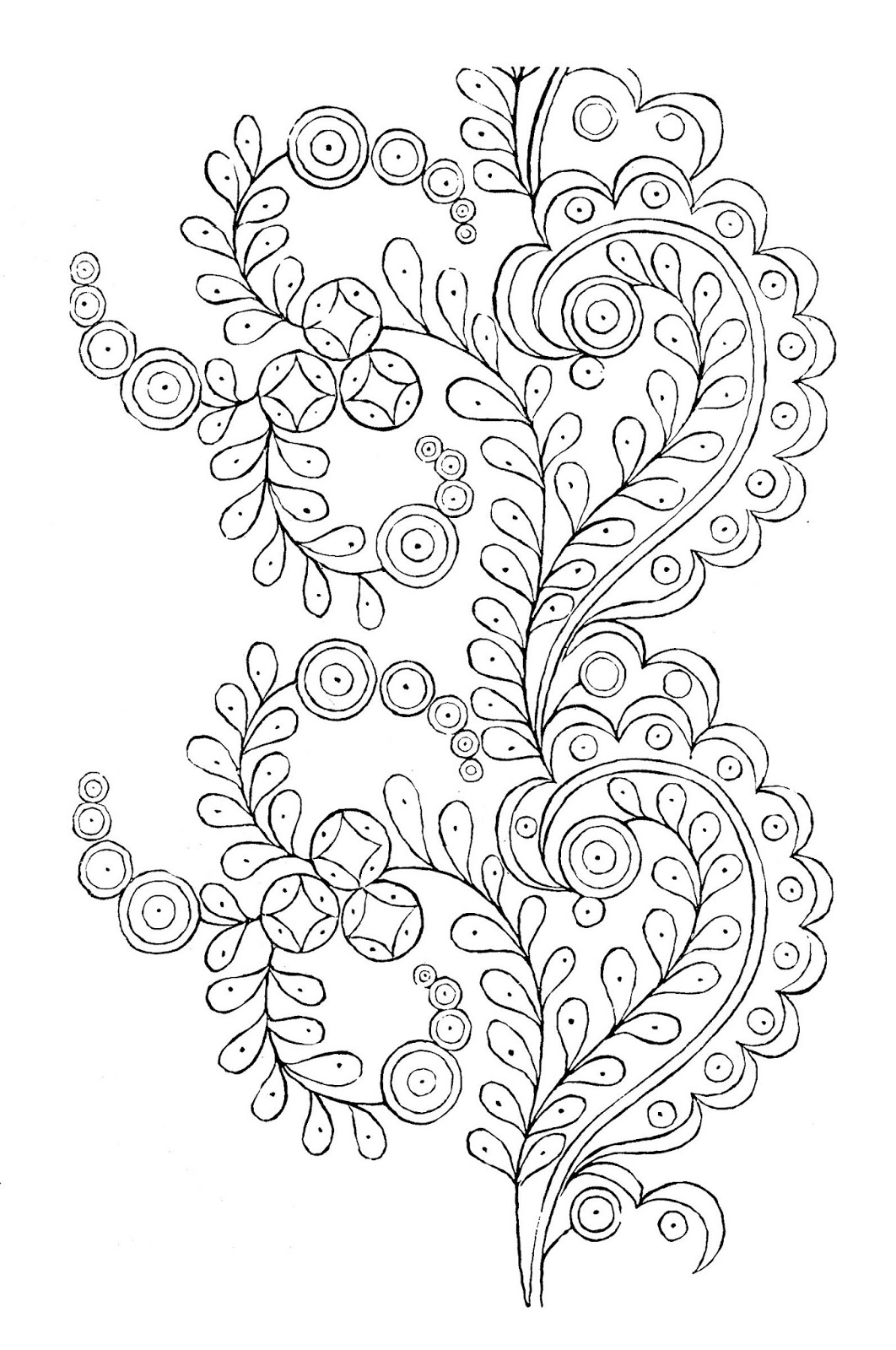 It is a picture of Soft Printable Embroidery Patterns