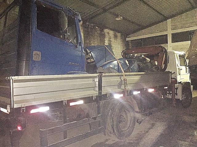 Polícia Civil desarticula quadrilha especializada em desmanche, receptação e adulteração de caminhões na RMBH