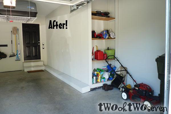 Cute Push Mower Garage Storage Ideas Compilation Design