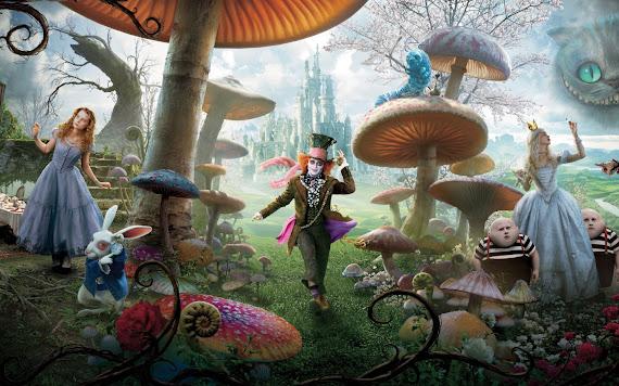 Alisa u zemlji čudesa download besplatne pozadine za desktop 1440x900