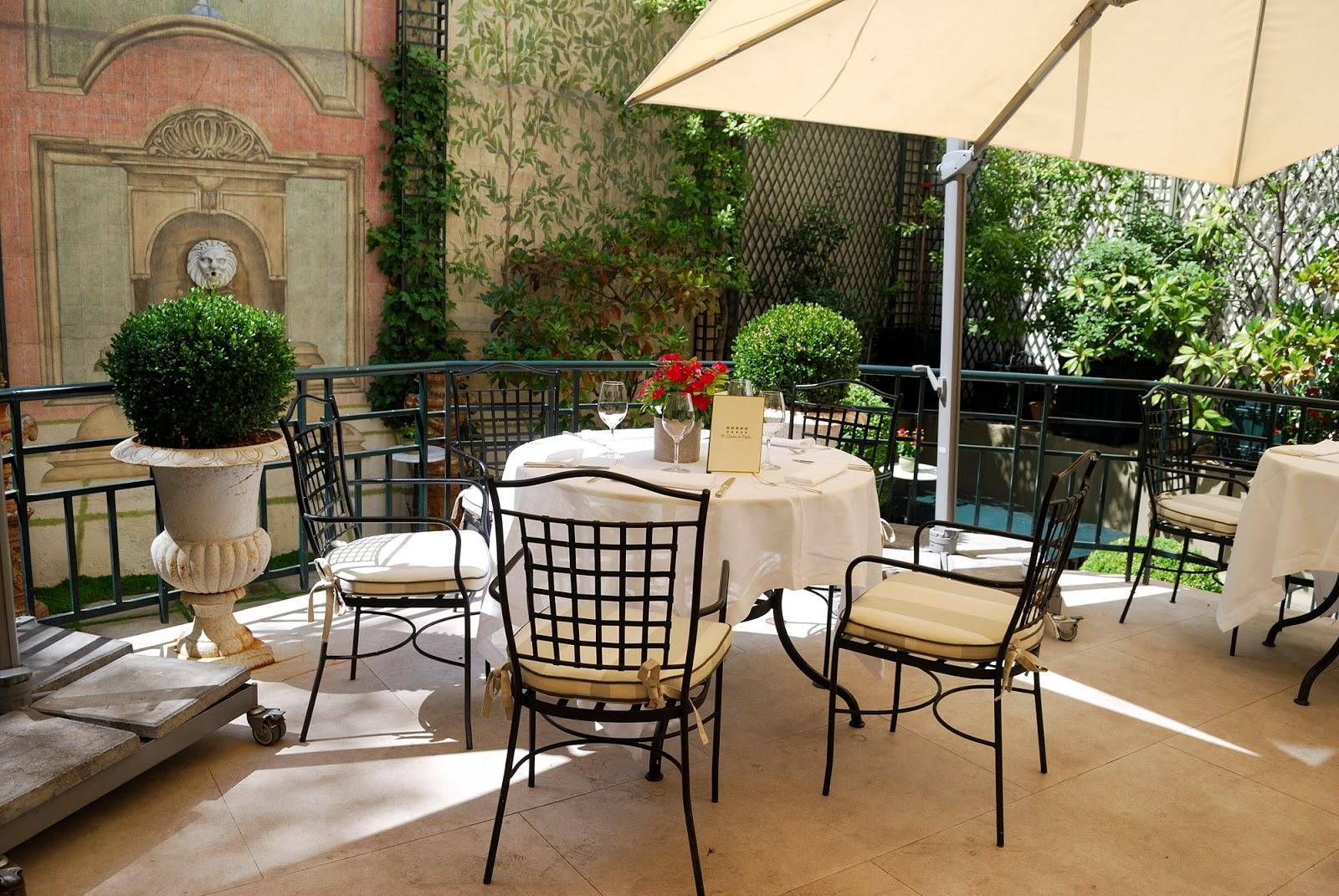 jardin garden hotel orfila brunch madrid spain