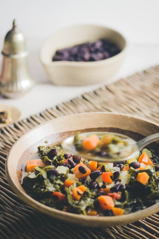 Guiso de verduras con legumbres