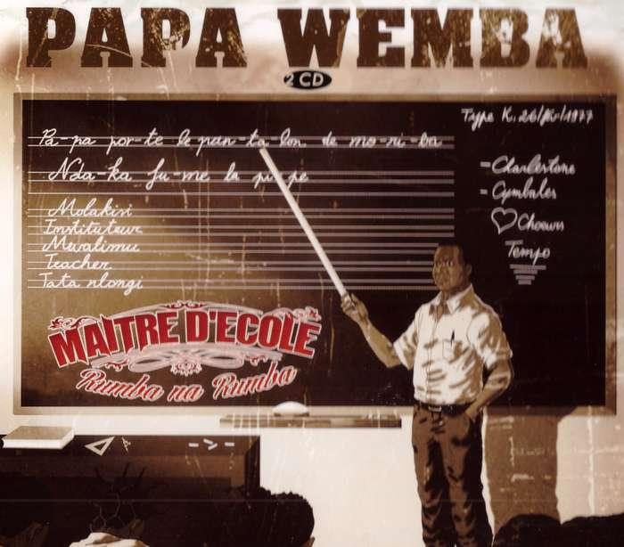 maitre d ecole papa wemba