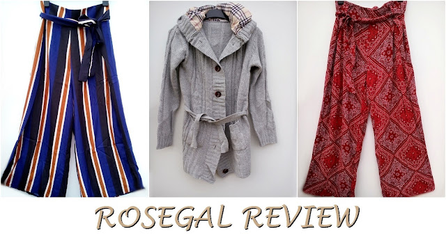 rosegal, online shop, onlajn sajt, recenzija, review, hlače, pants, high waisted, visoki struk, stripes, prugice, fashion, moda, slits-horz
