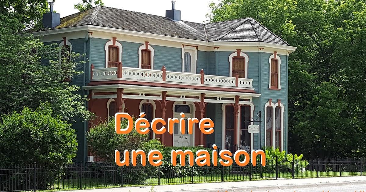 Vocabulaire  dcrire une maison  Le franais entre quatzyeux