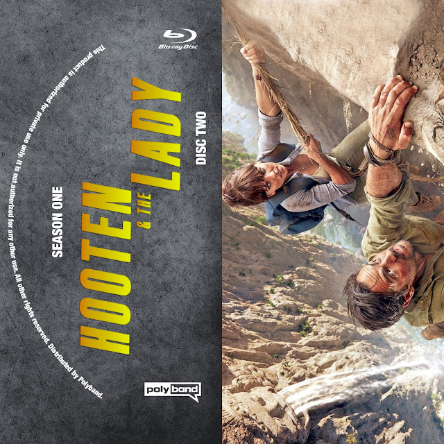 Hooten & The Lady Season 1 Disc 2 Bluray Label