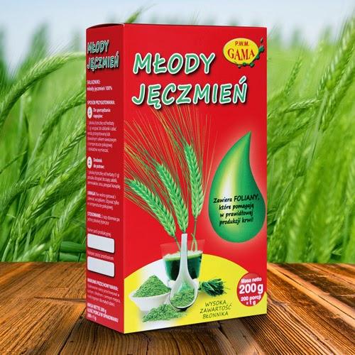 młody zielony jęczmień targroch