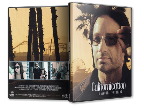 Capa DVD Californication 2ª Temporada (Oficial)