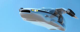 mobil terbang terrafugia 3