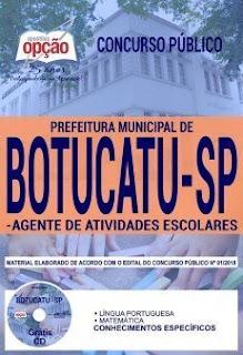 Download Apostila Prefeitura de Botucatu SP 2018 PDF