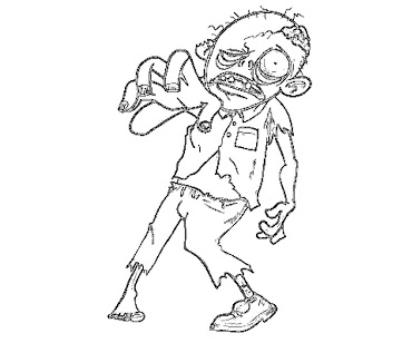 1 The Walking Dead Coloring Page