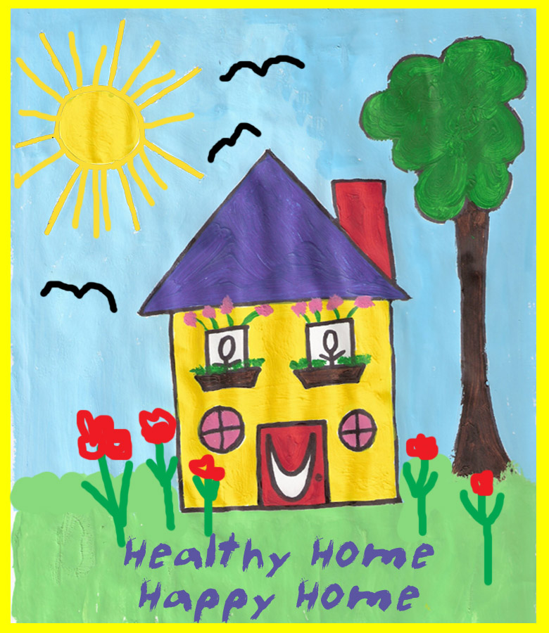 [un]spoken thoughts: a clean house is a happy house?!