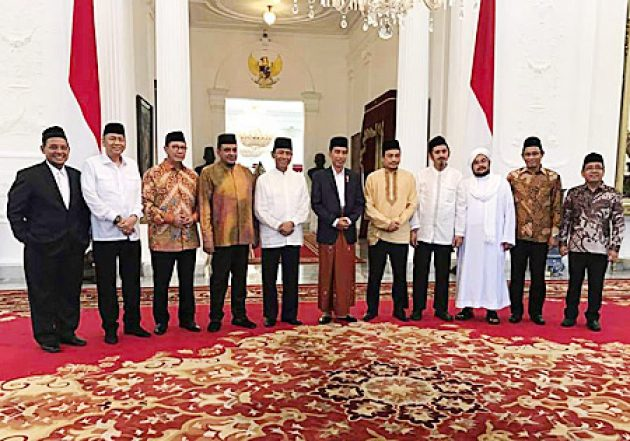 """Pertemuan dengan Presiden Jokowi, GNPF Rembugkan Solusi soal """"Kriminalisasi"""" Ulama"""