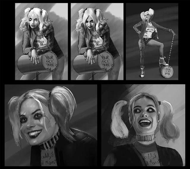 Margot Robbie es Harley Quinn como Suicide Squad
