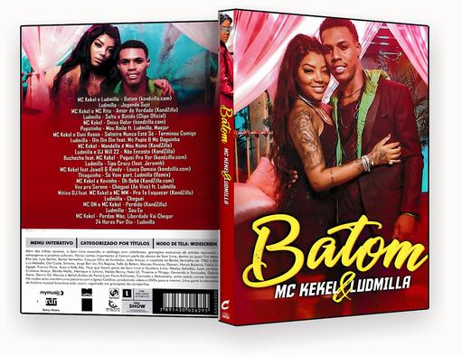 CAPA DVD – MC Kekel & Ludmila Batom 2018 – ISO