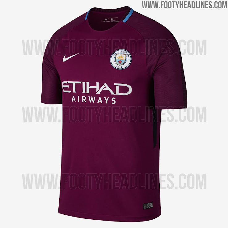 Manchester City 17-18 Away Kit Released - Footy Headlines 4a91fd0d3