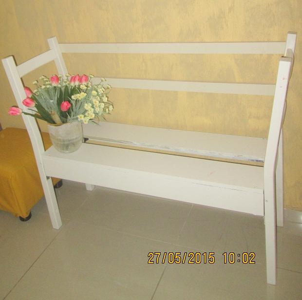 IMG 0412 - בניית ספסל משני כיסאות