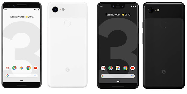 Google Pixel 3 and Pixel 3 XL Price and full Specification.