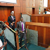 Nigeria's 5:00 GPA record breaker, Ayodele Dada makes his grand entry into the Chambers of House of Rep (photos)