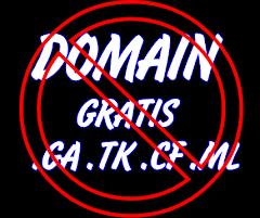 Jangan Pasang Domain Gratis Di Blog Anda