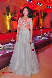Actress Madhu Shalini Exclusive Stills in Party Dress at Vijay Karan Aashna Wedding  0050.JPG