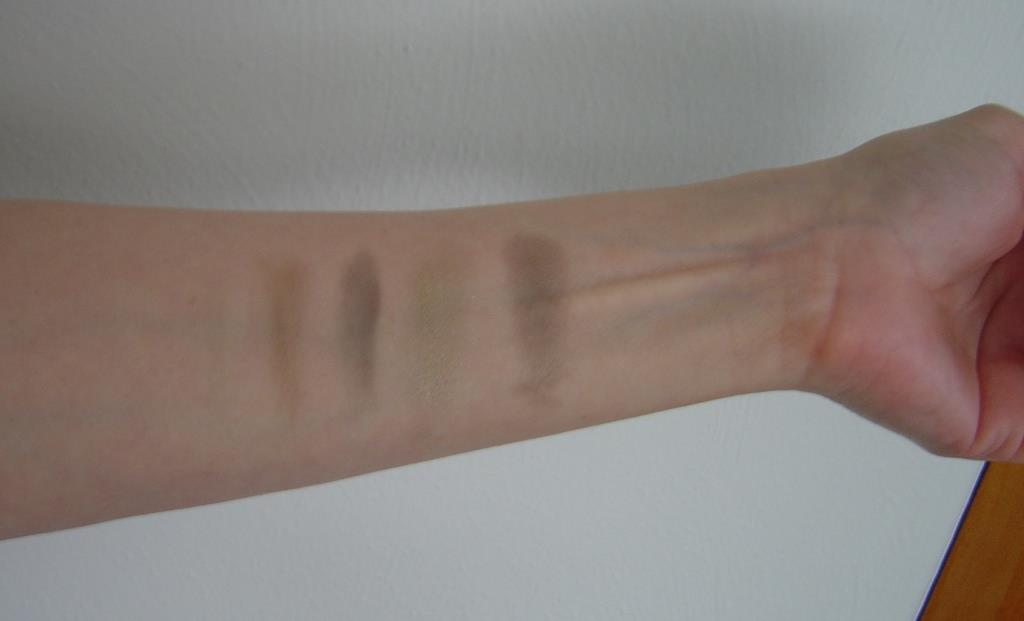 Swatches of Borghese Fresh Eye Shadow Palette.jpeg
