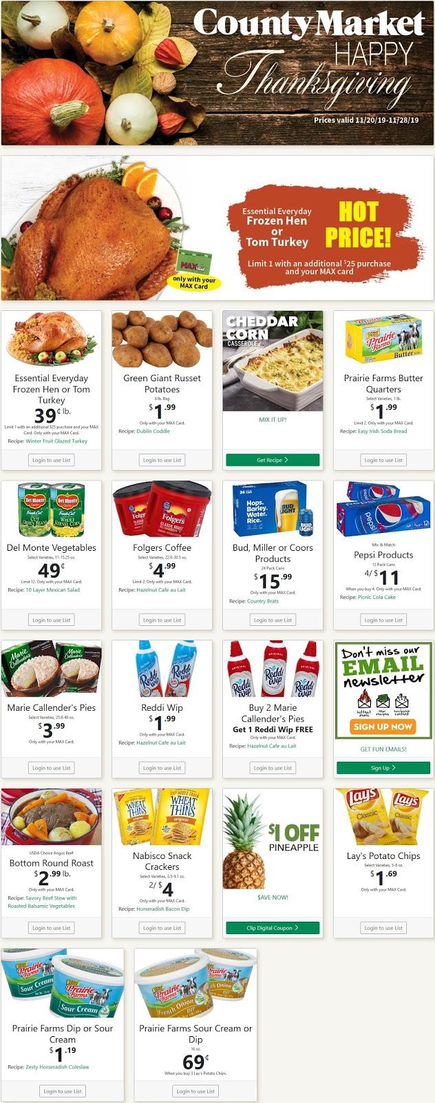 ⭐ County Market Ad 2/26/20 ⭐ County Market Weekly Ad February 26 2020