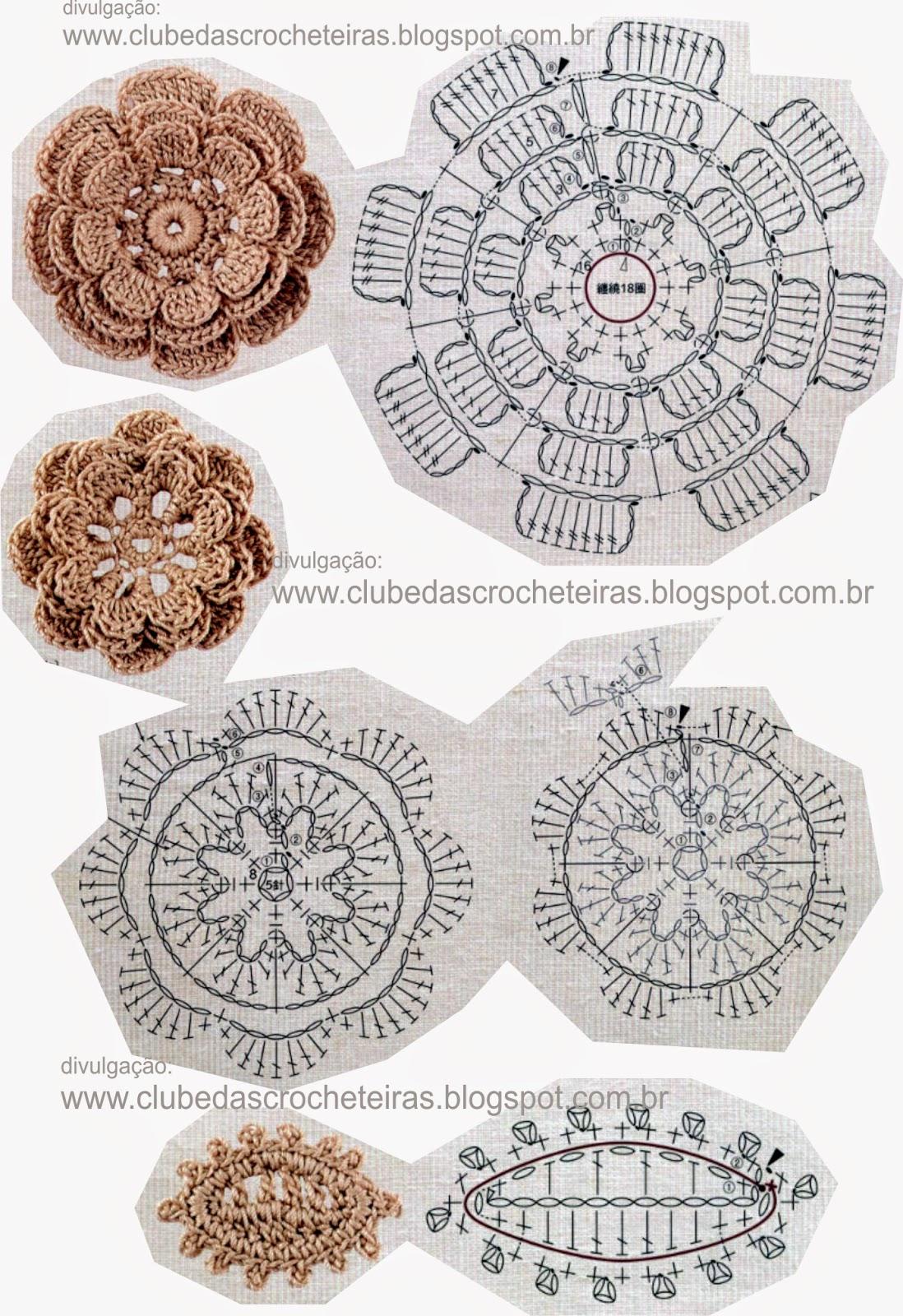 Ergahandmade Crochet Scarf Diagrams Stitches Diagram