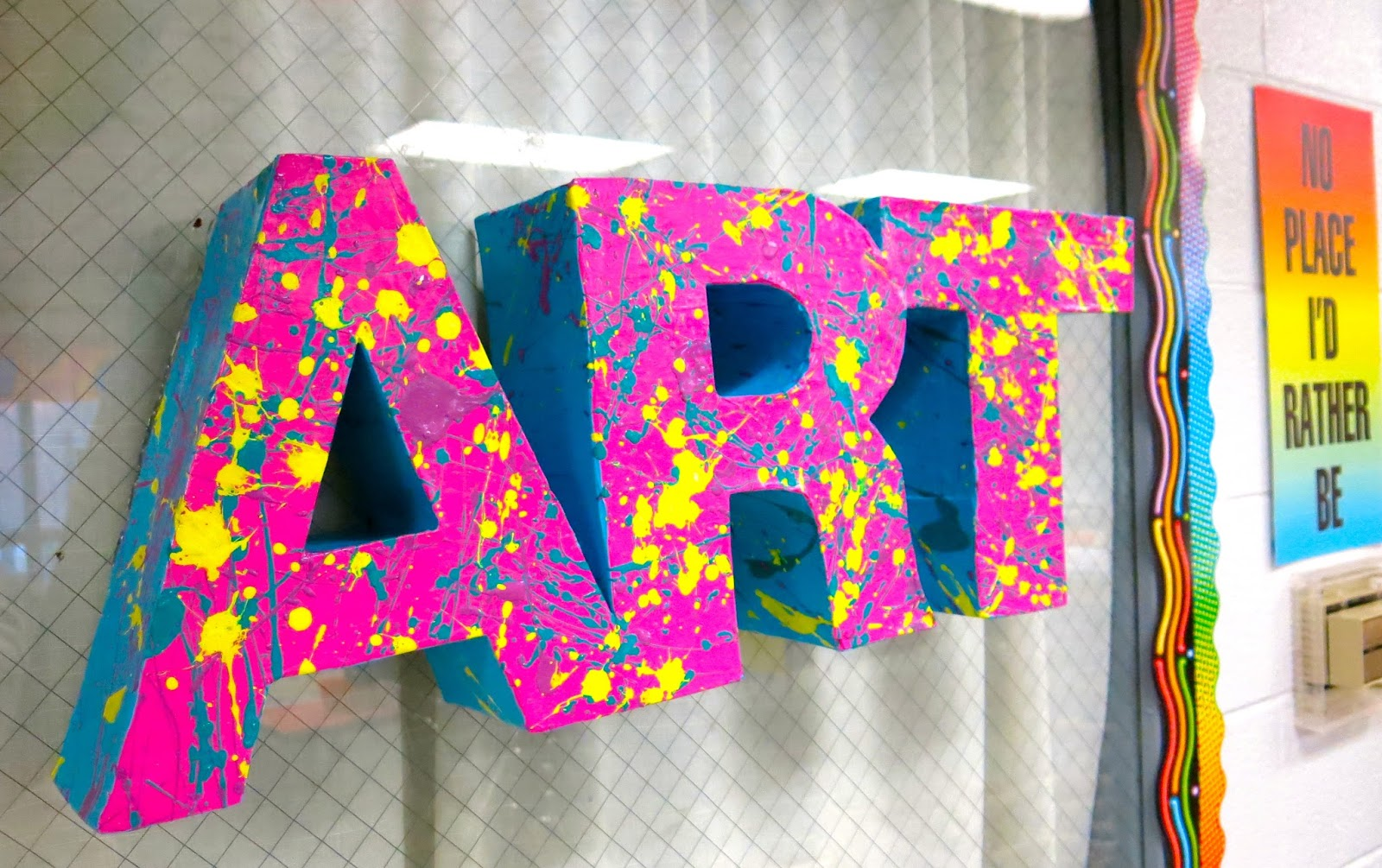 cassie stephens in the art room 3 d letters