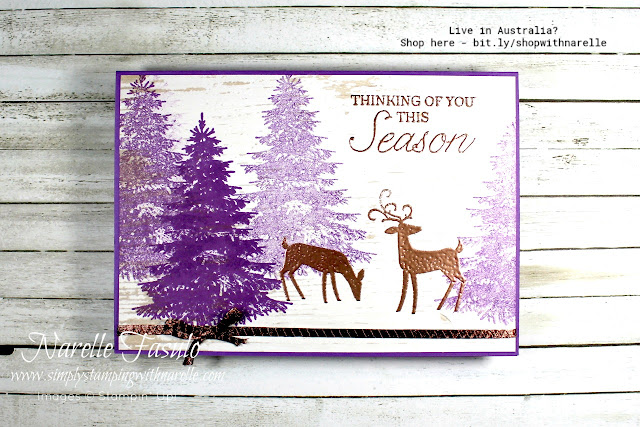 Need to get started on your Christmas Cards? Then check out my online store where you will find everything you need to create amazing cards - http://bit.ly/shopwithnarelle