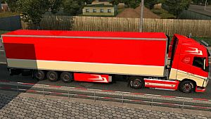 Volvo Fh16 Holland Style skin + trailer