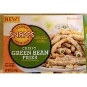 Horribly small stock image of Snapps Crispy Green Bean Fries, from Dollar Tree