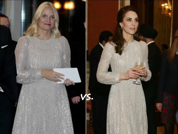 👗Crown Princess Mette-Marit of Norway vs Catherine, Duchess of Cambridge (United Kingdom)