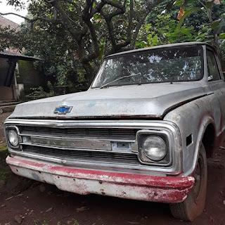 Bahan Pickup Klasik Chevrolet C30
