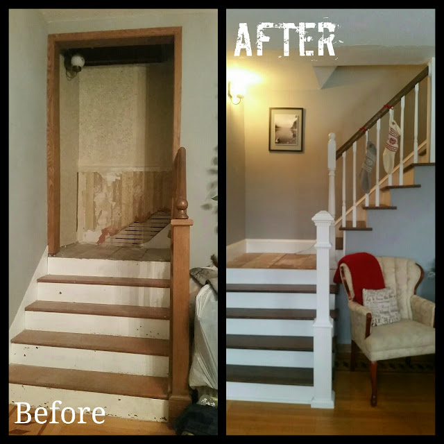 What To Know About Removing Internal Walls: Through My Creative Mind: Historic Staircase & Hallway