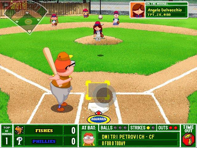Amazing Backyard Baseball 2003 Game Tittle Free Download
