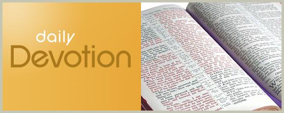 Today's Devotion (Sunday)