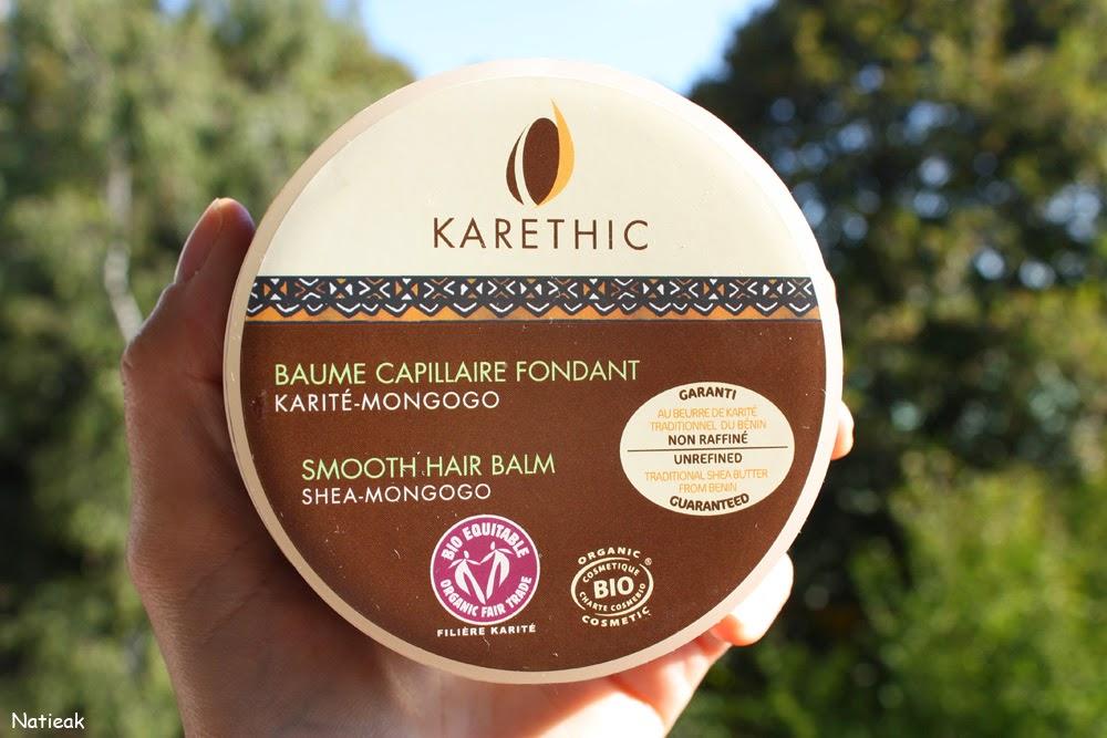 Baume capillaire fondant de Karethic