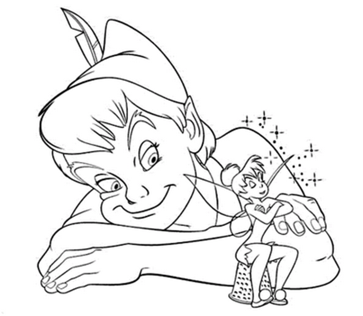 peter pan free coloring pages - photo#18