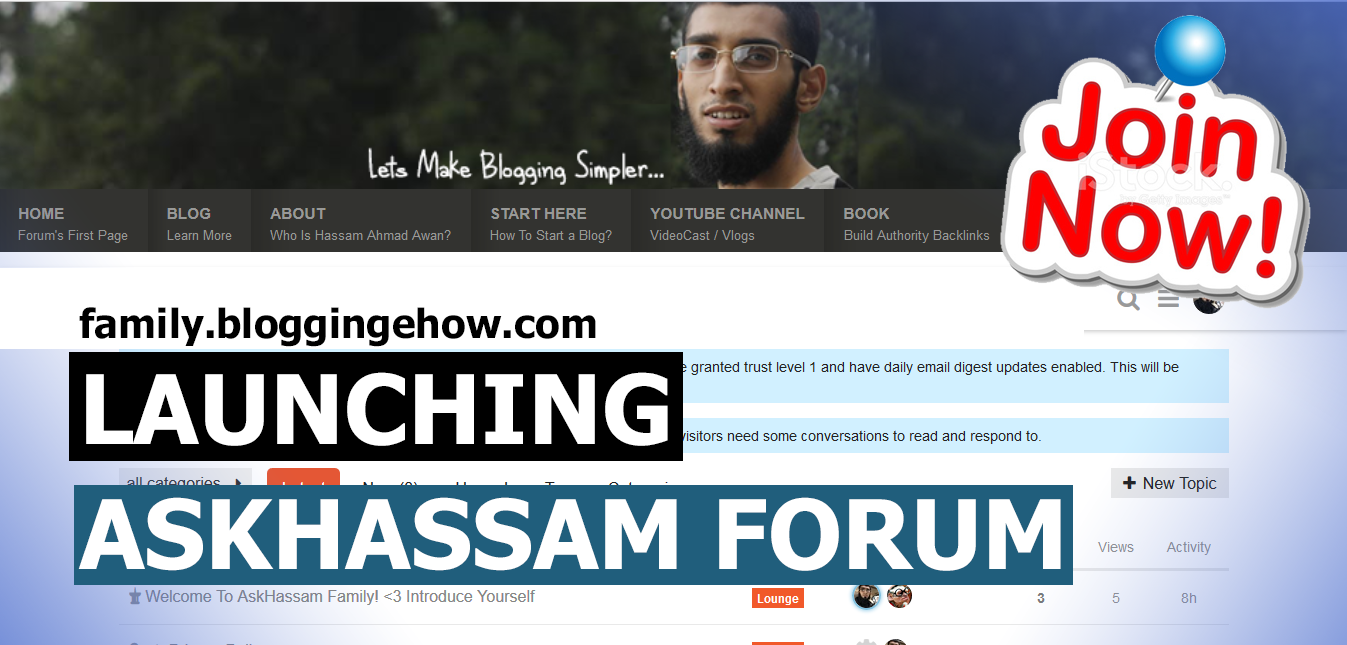 AskHassam best blogging forum