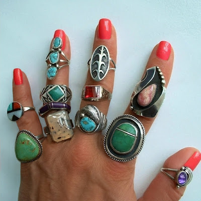 Enter website to view Native American Rings