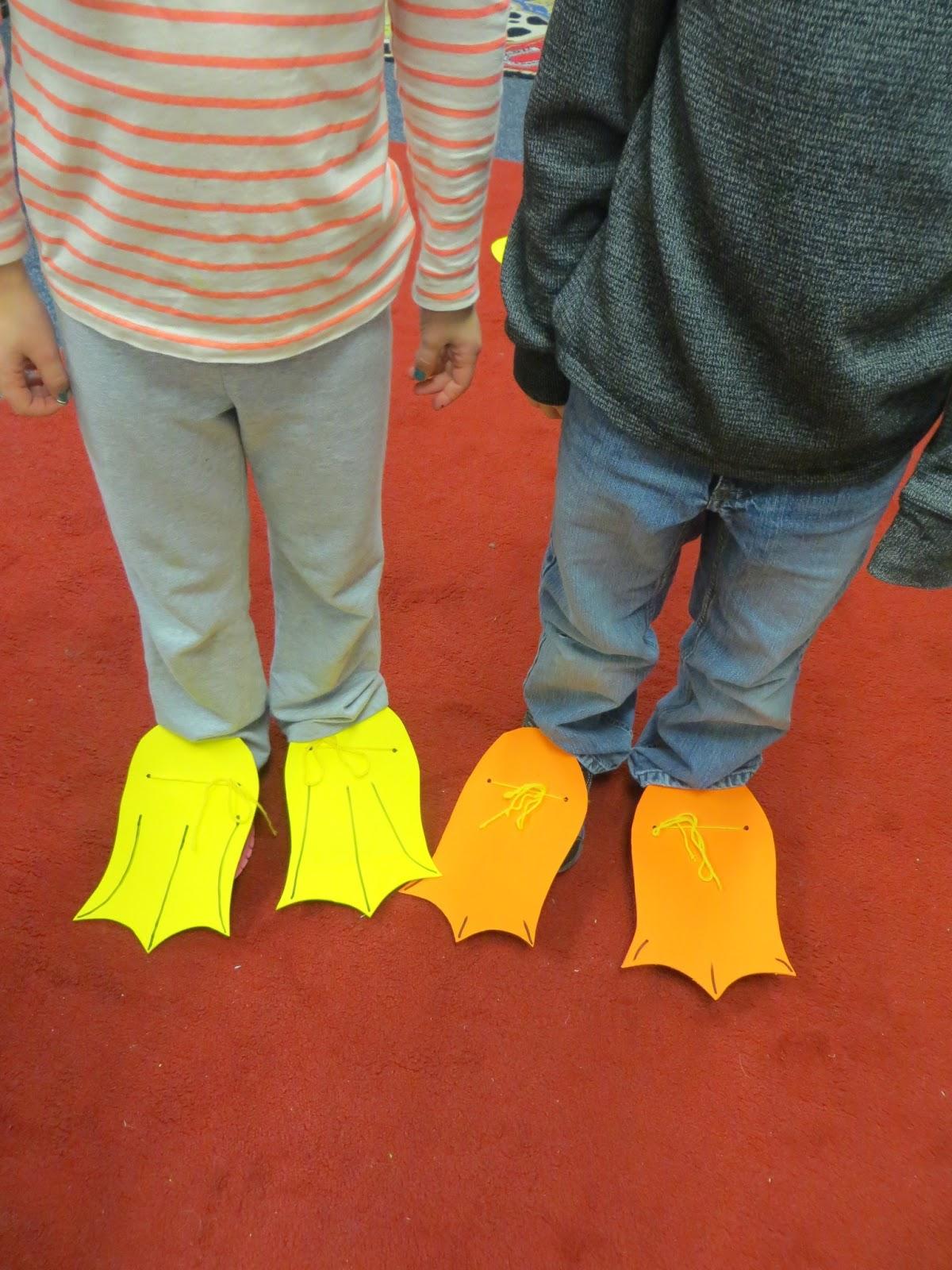 First Grade Wow I Wish That I Had Duck Feet