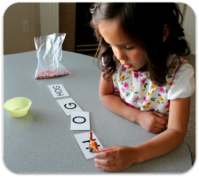 10 Activities to teach your child to read - these are amazing! So simple, and fun.