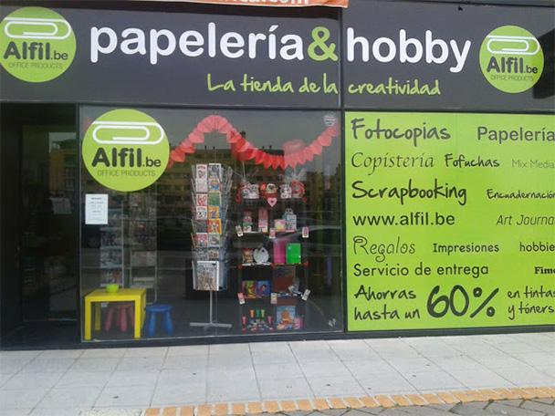 Nueva papelería en Las Tablas Madrid