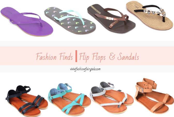 Fashion Finds | Flip Flops & Sandals