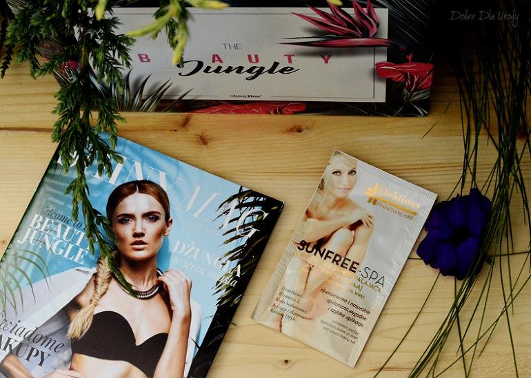 ShinyBox - Efektima Sunfree-Spa Chusteczka Samoopalająca do twarzy i ciała