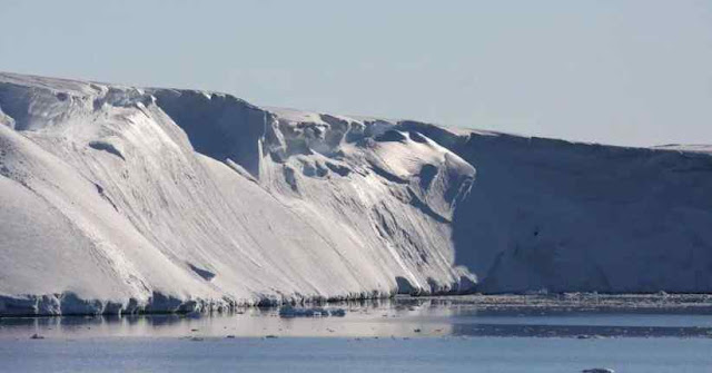Antarctic Ice Mountain Melts Faster than Expected